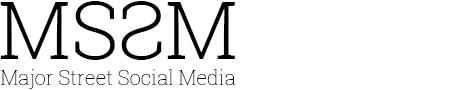 Logo Major Street Social Media